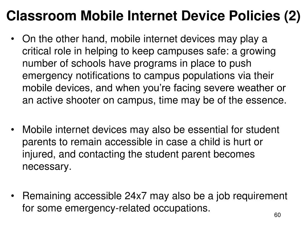 Classroom Mobile Internet Device Policies (2)