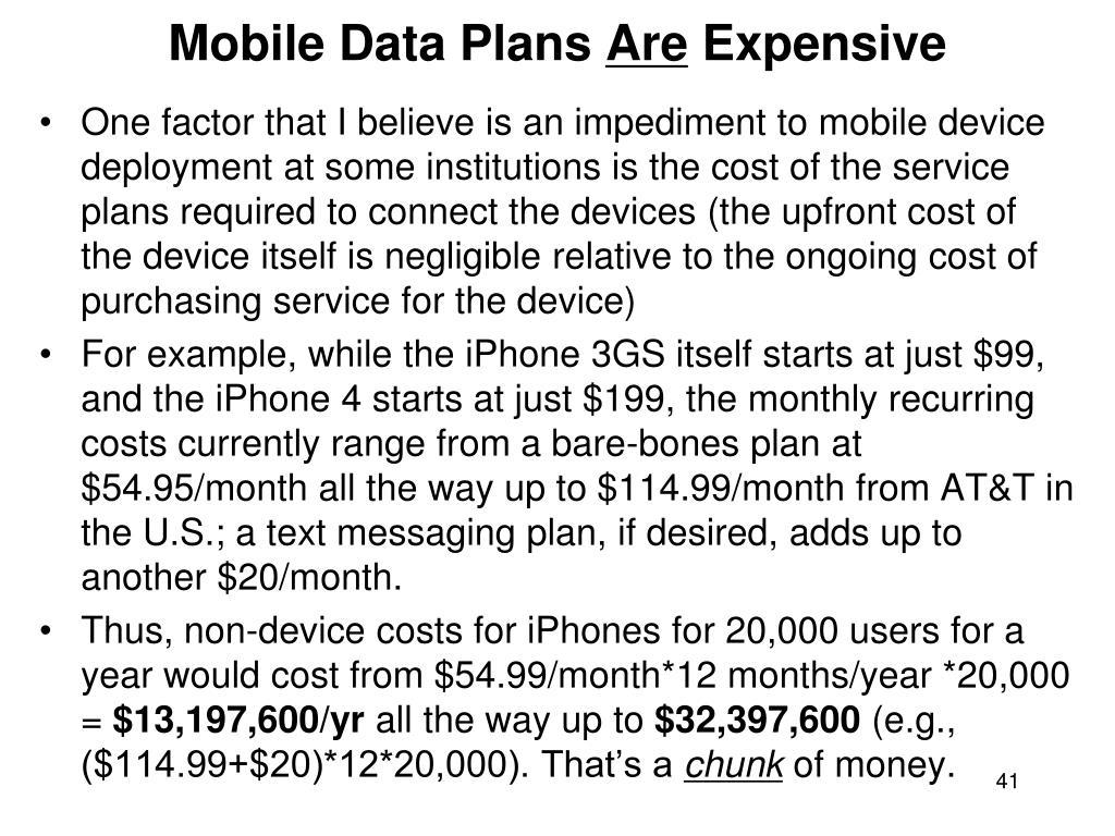 Mobile Data Plans