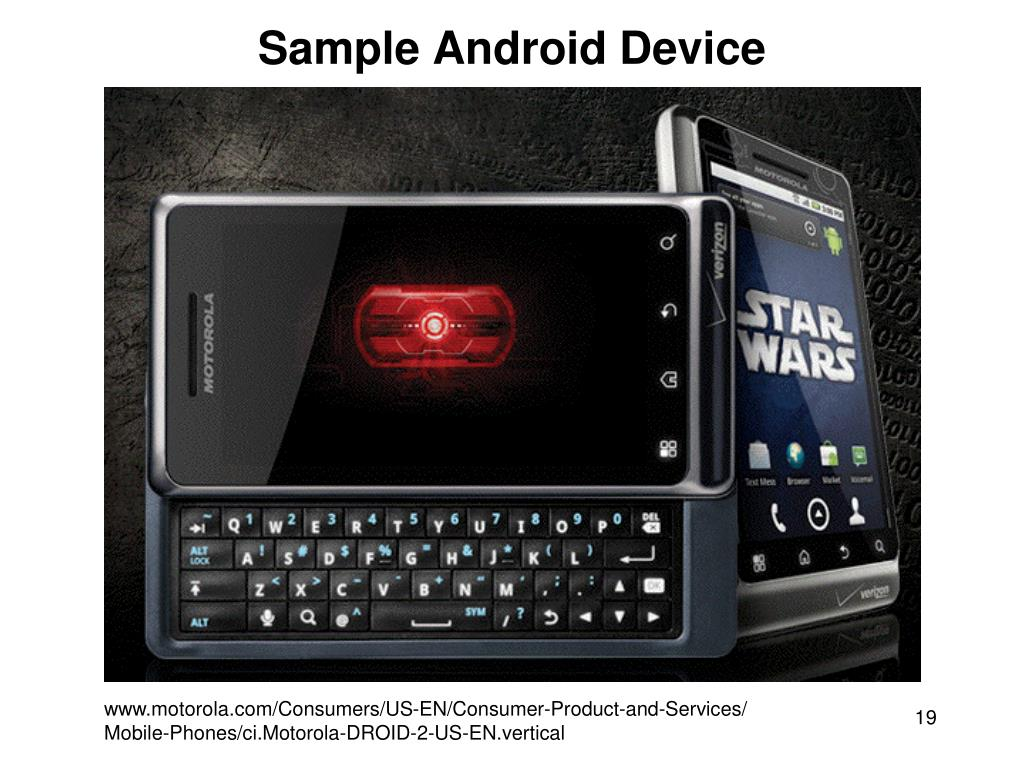 Sample Android Device
