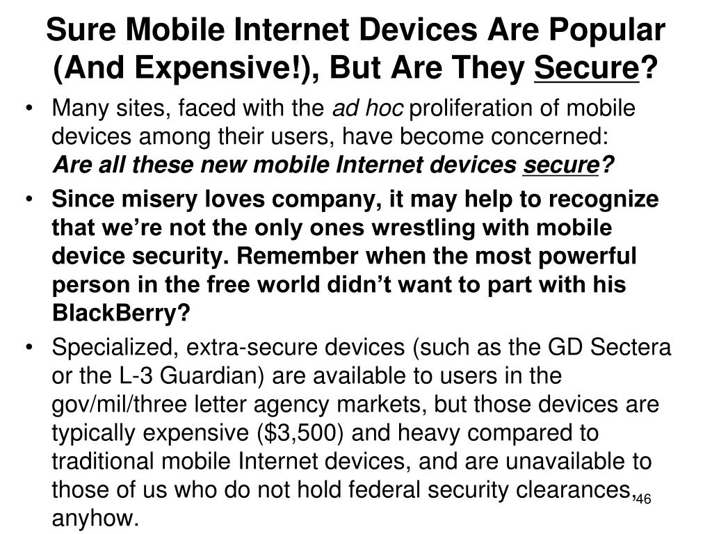Sure Mobile Internet Devices Are Popular (And Expensive!), But Are They