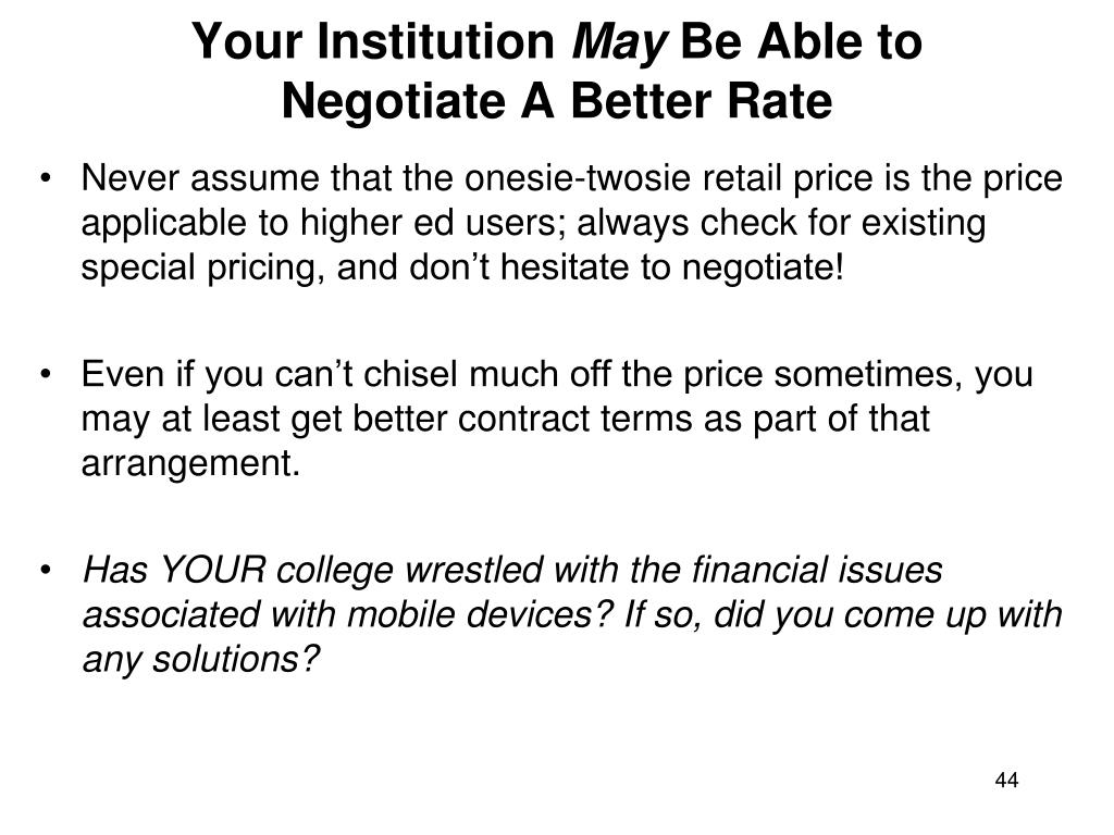 Your Institution