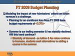 fy 2009 budget planning15