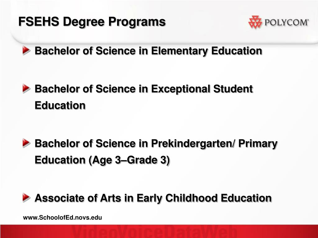 FSEHS Degree Programs