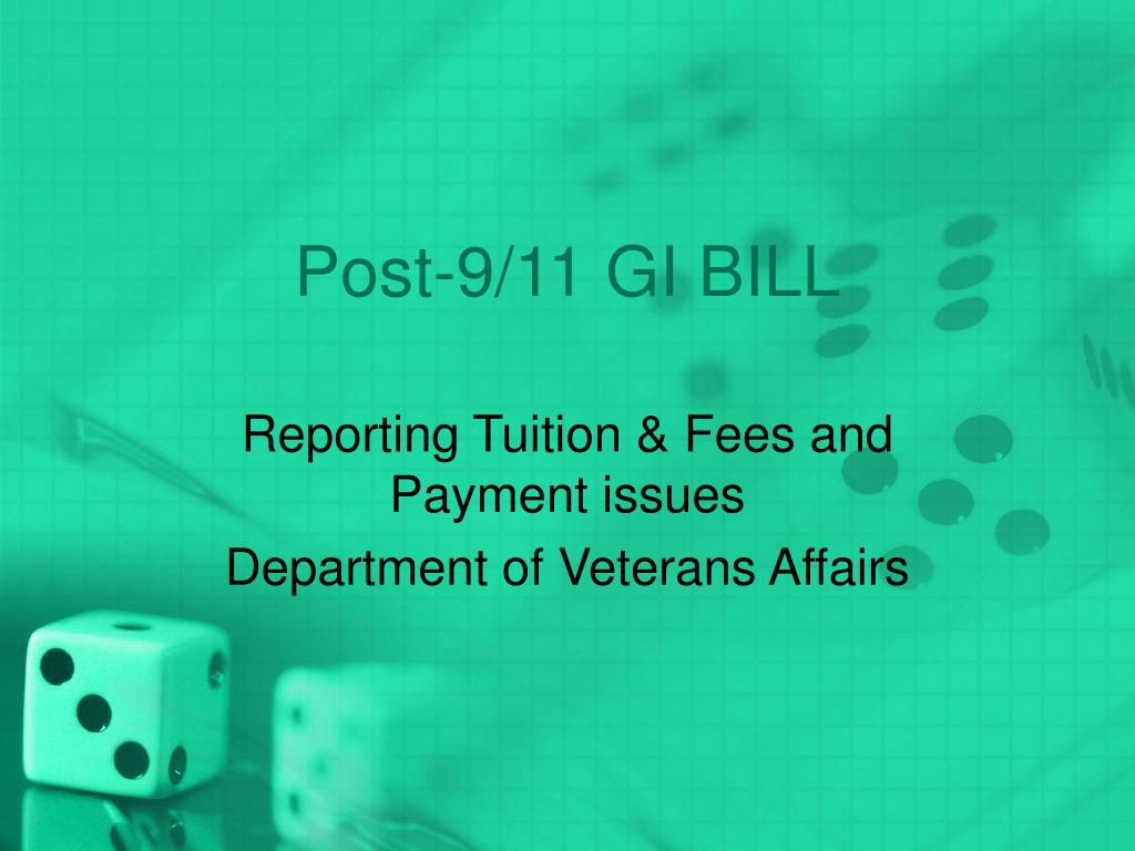 post 9 11 gi bill l.