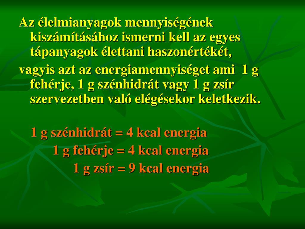 PPT - ANYAGCSERE BETEGSÉGEK DIÉTÁS KEZELÉSE PowerPoint..
