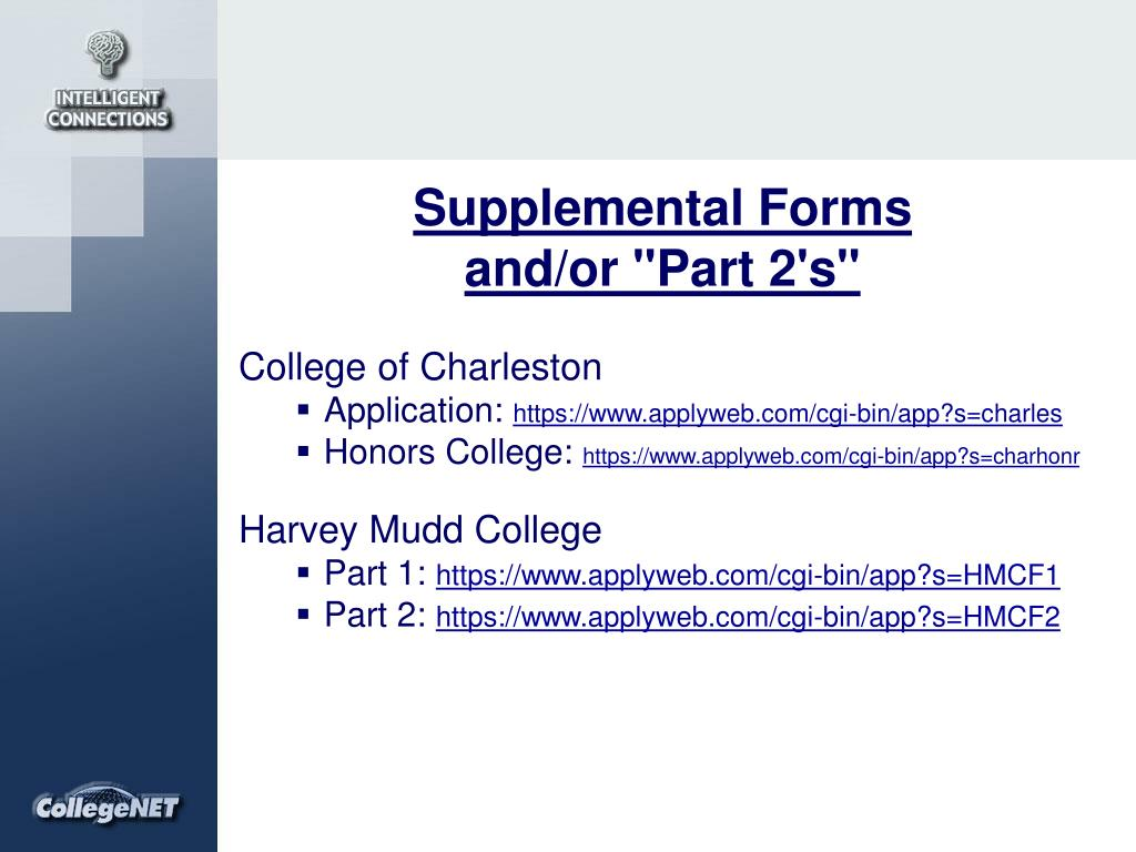 Supplemental Forms