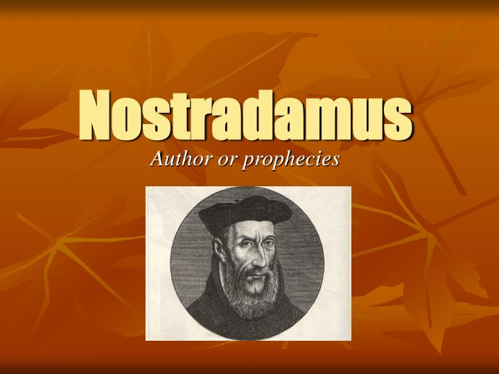 a biography of nostradamus born in france Michel de nostradame was born in the south of france in saint-remy-de-provence nostradamus returned to france to resume his practice of biography courtesy of.