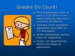grades do count