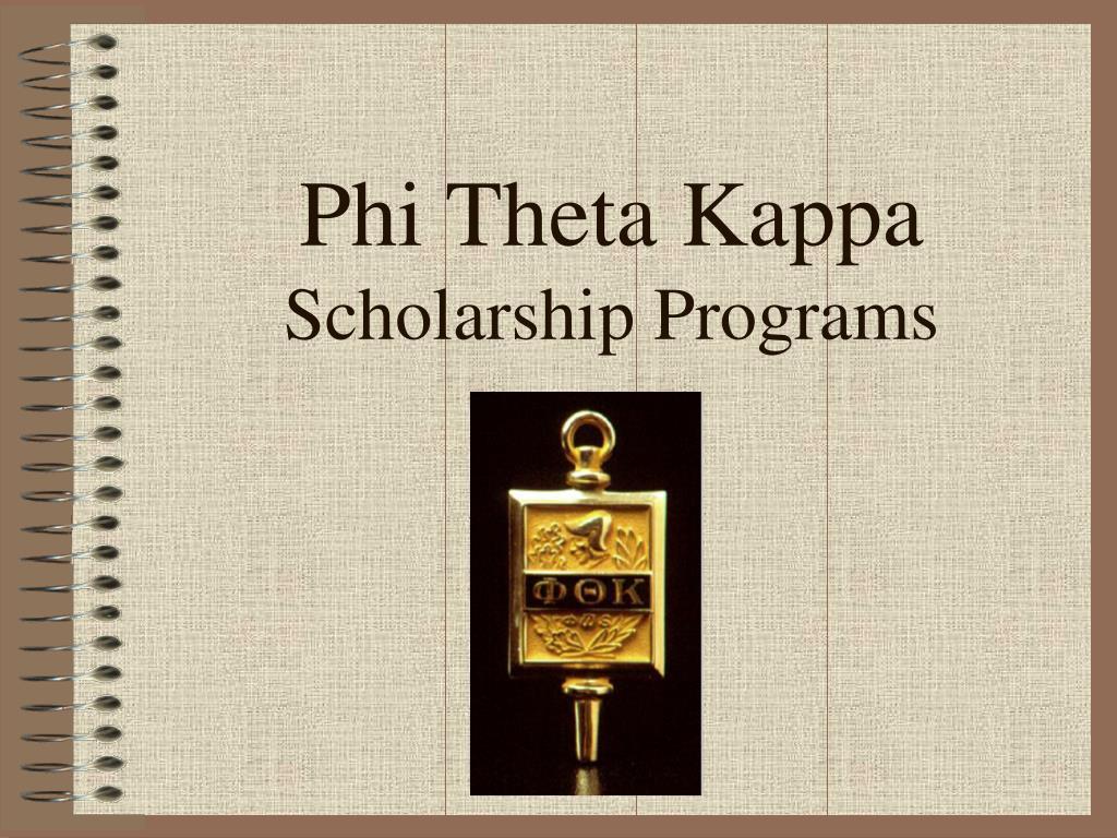 phi theta kappa scholarship programs