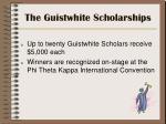the guistwhite scholarships7