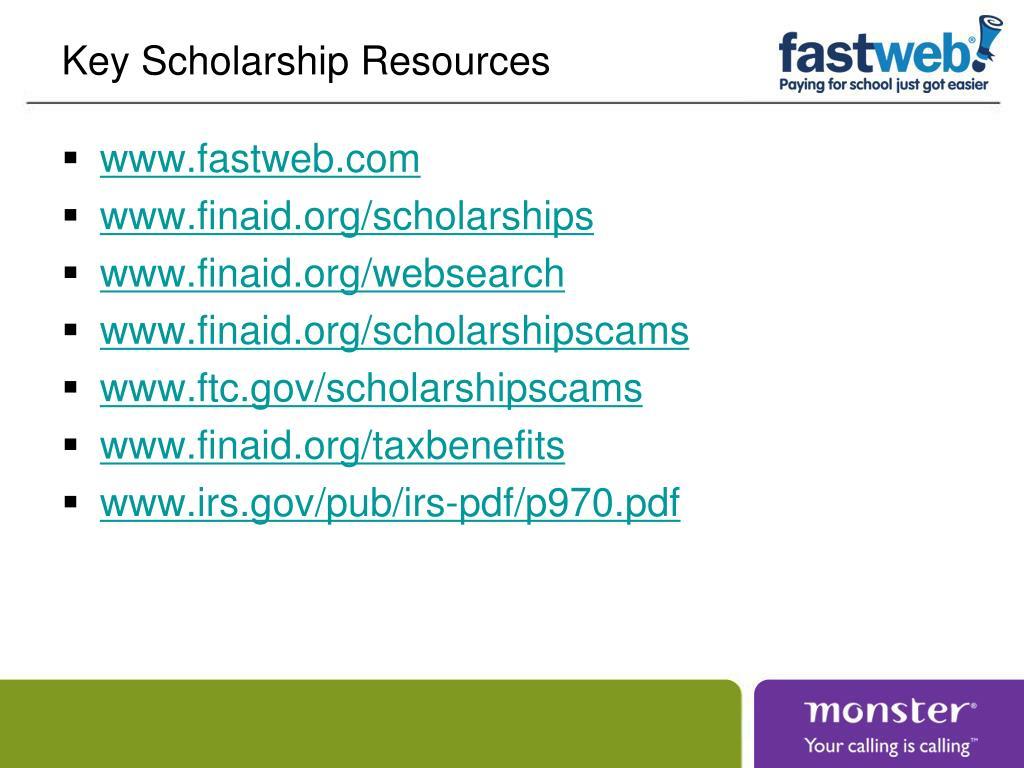 Key Scholarship Resources