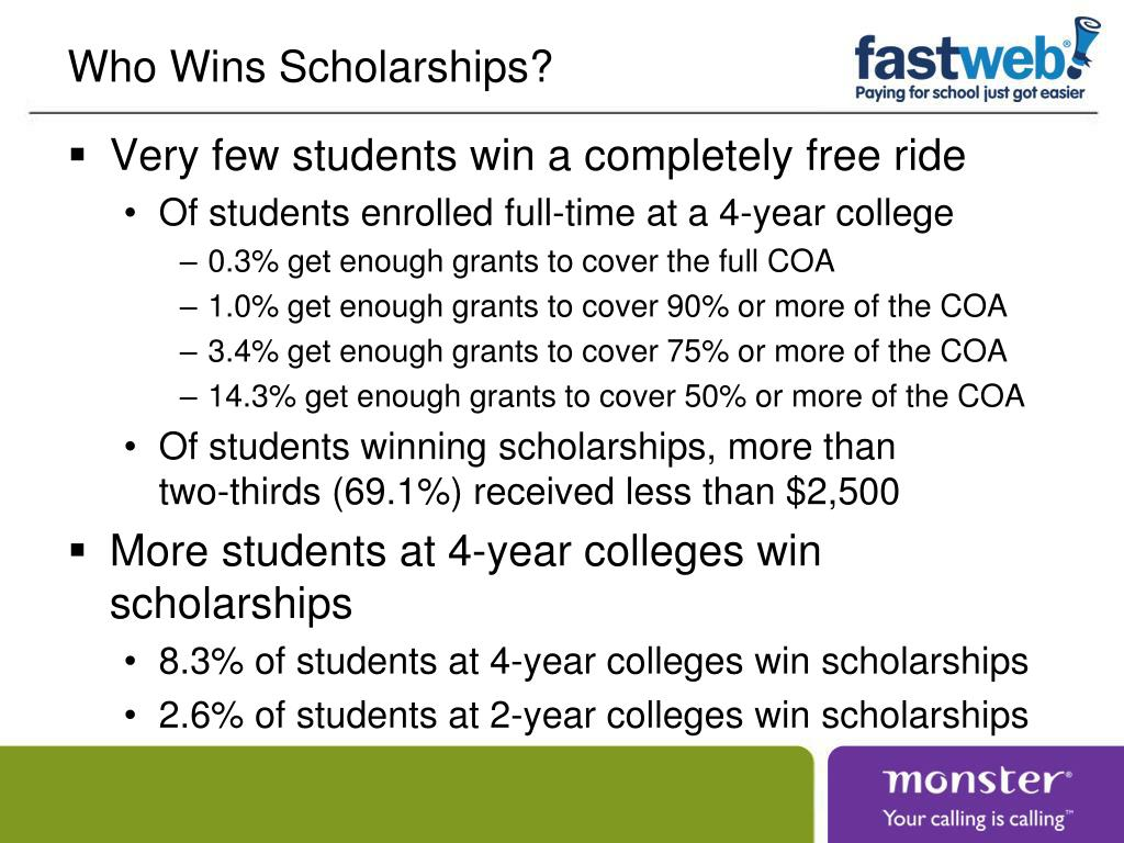 Who Wins Scholarships?