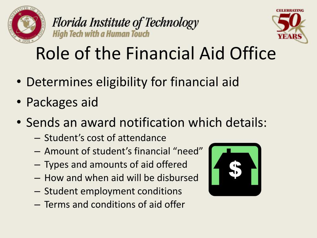 Role of the Financial Aid Office
