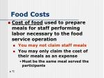 food costs1