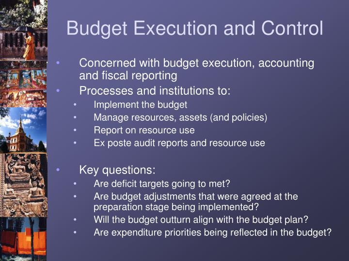managing resources and controlling budgets essay Budgeting: management's influence on the budget process - introduction budgeting is an essential process for all businesses by using the company's current financial data as well as its historical data, a business should be able to forecast and plan a budget for the company's future.