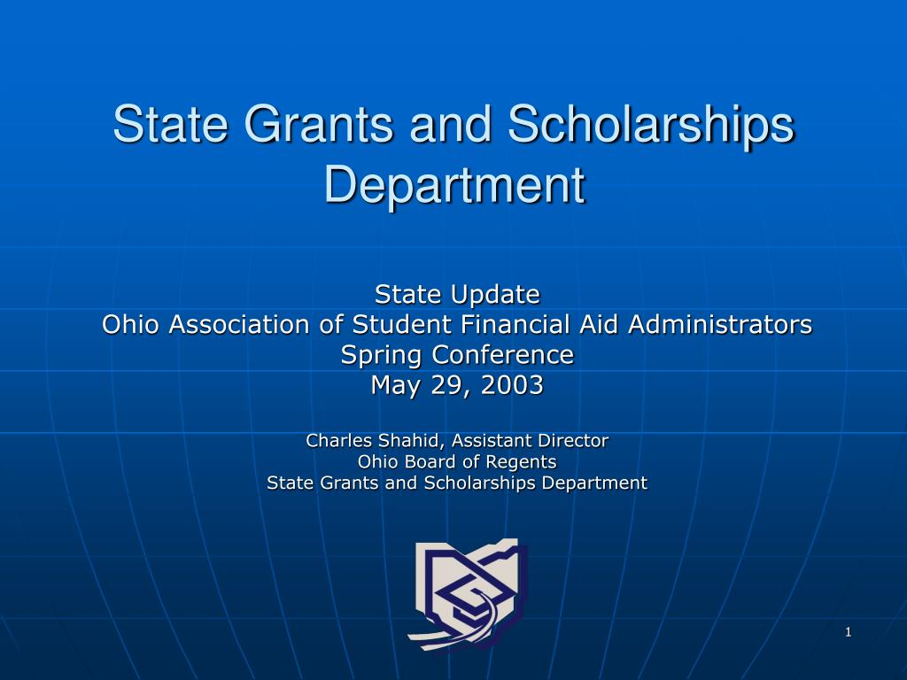 state grants and scholarships department l.