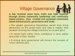 village governance