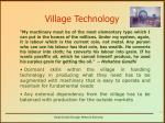 village technology