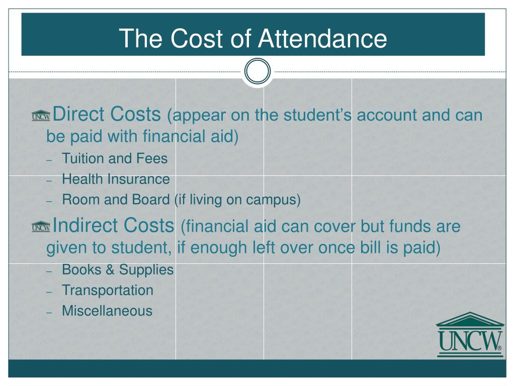 The Cost of Attendance