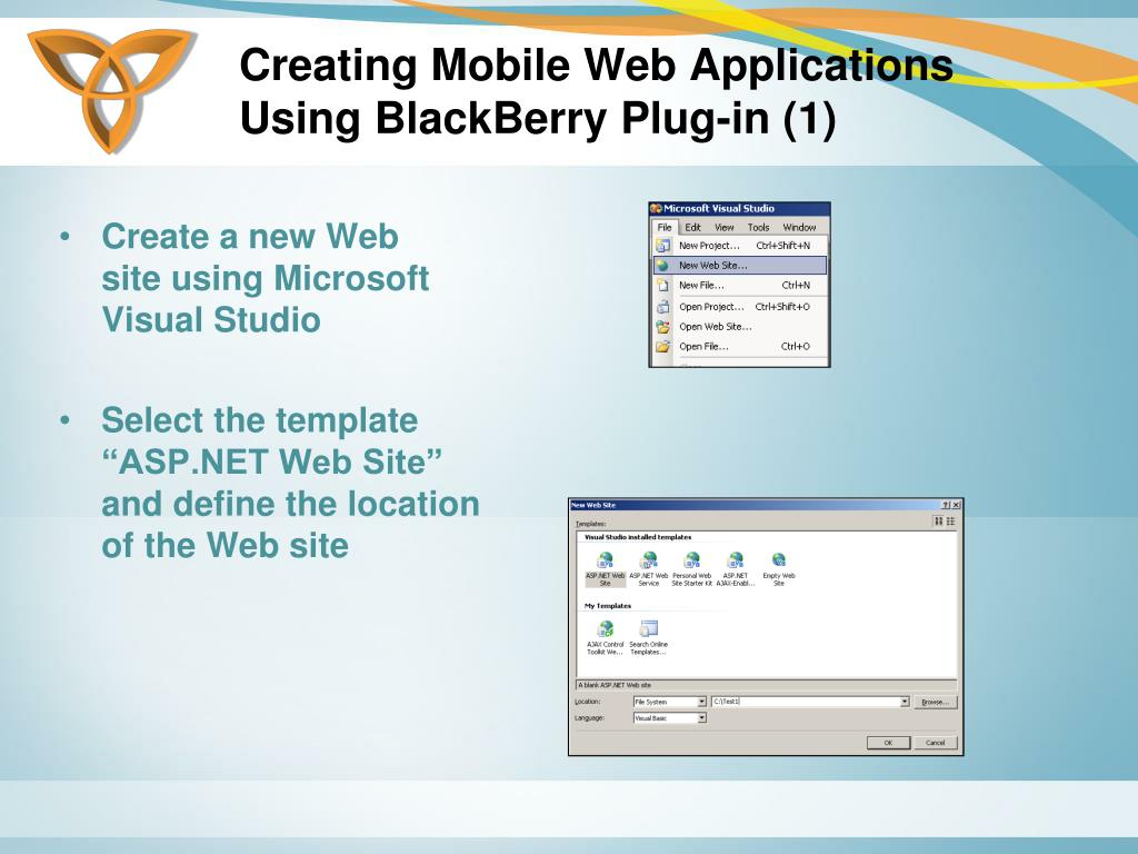 Creating Mobile Web Applications Using BlackBerry Plug-in (1)