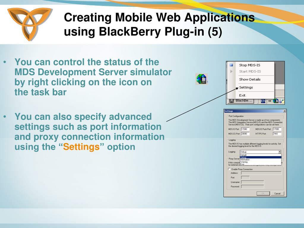 Creating Mobile Web Applications using BlackBerry Plug-in (5)