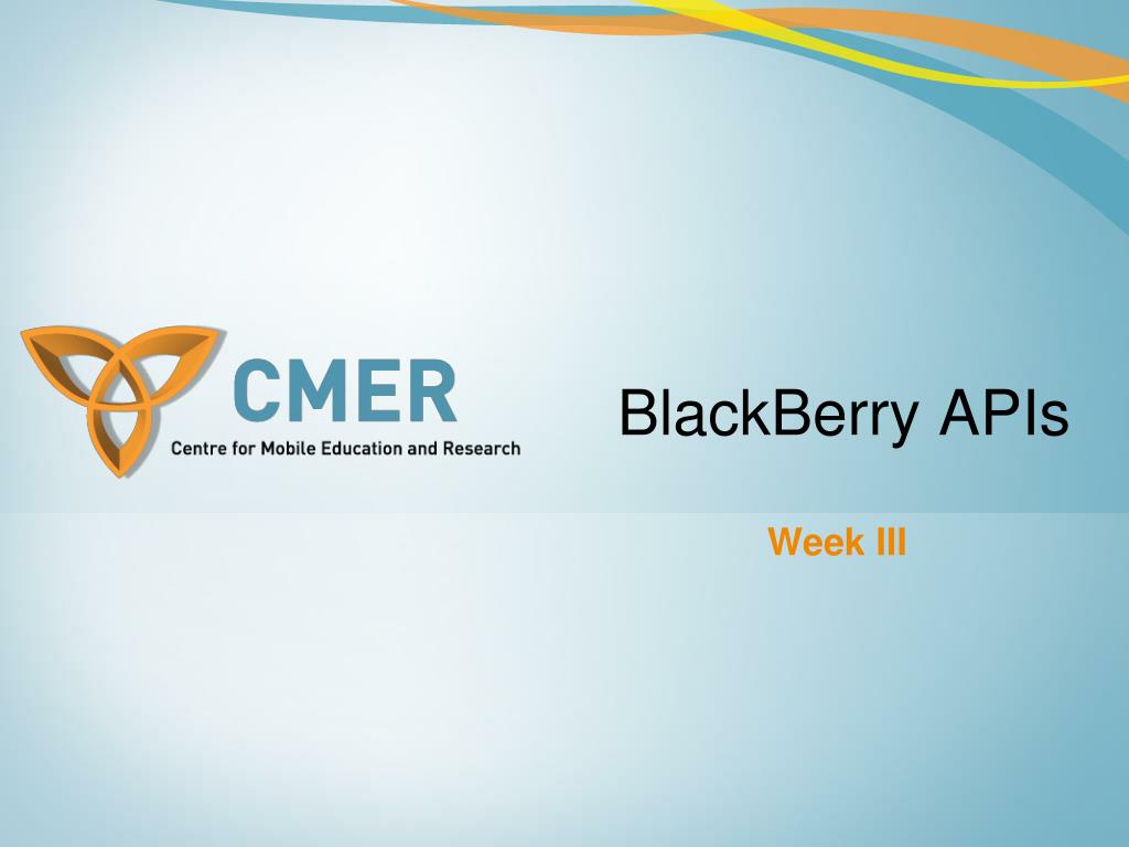 blackberry apis l.