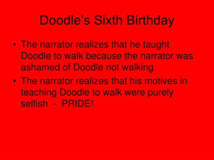 Doodle's Sixth Birthday
