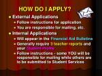 how do i apply