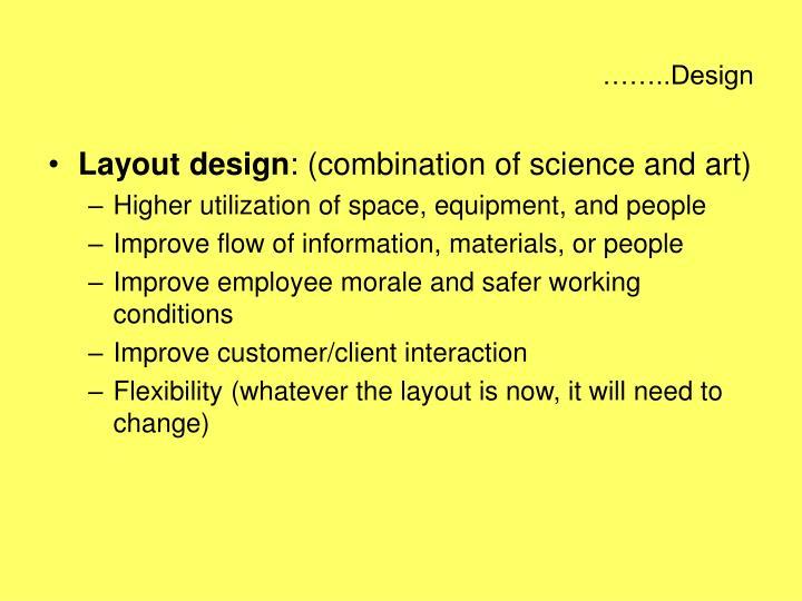 ……..Design