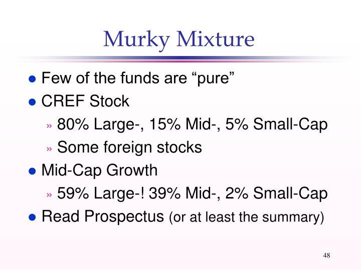 Murky Mixture