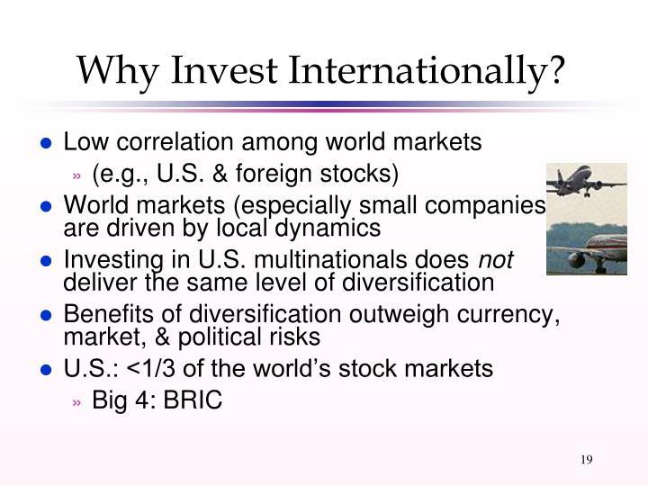 Why Invest Internationally?