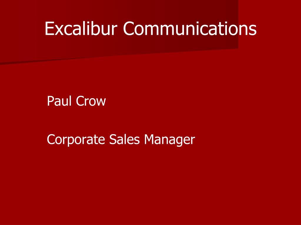 excalibur communications l.