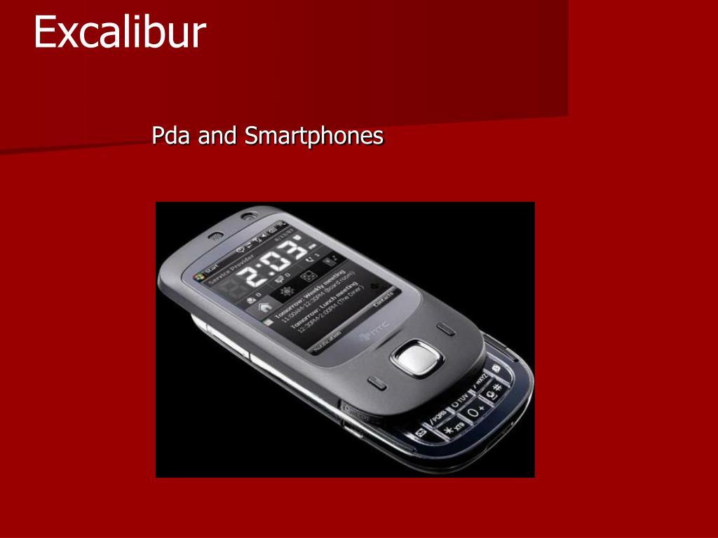 Pda and Smartphones