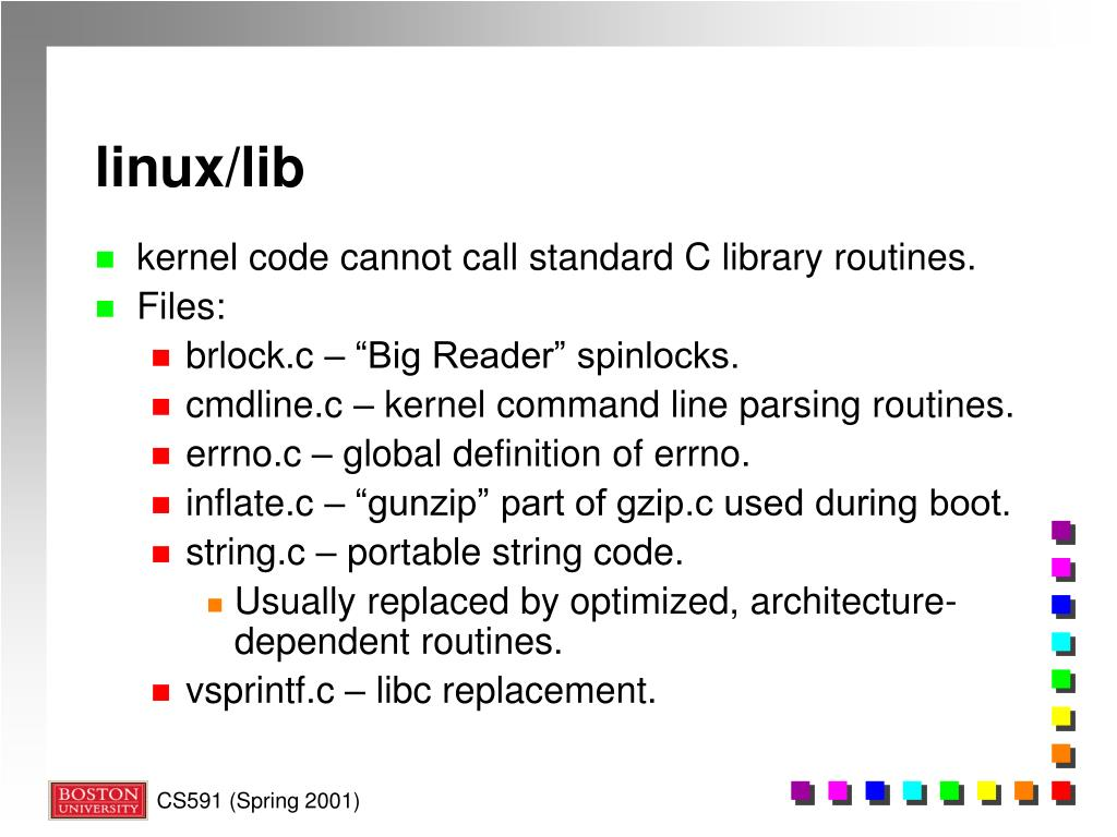 PPT - The Linux Kernel: Introduction PowerPoint Presentation