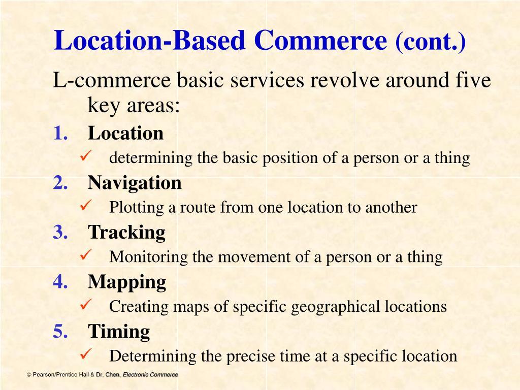 Location-Based Commerce