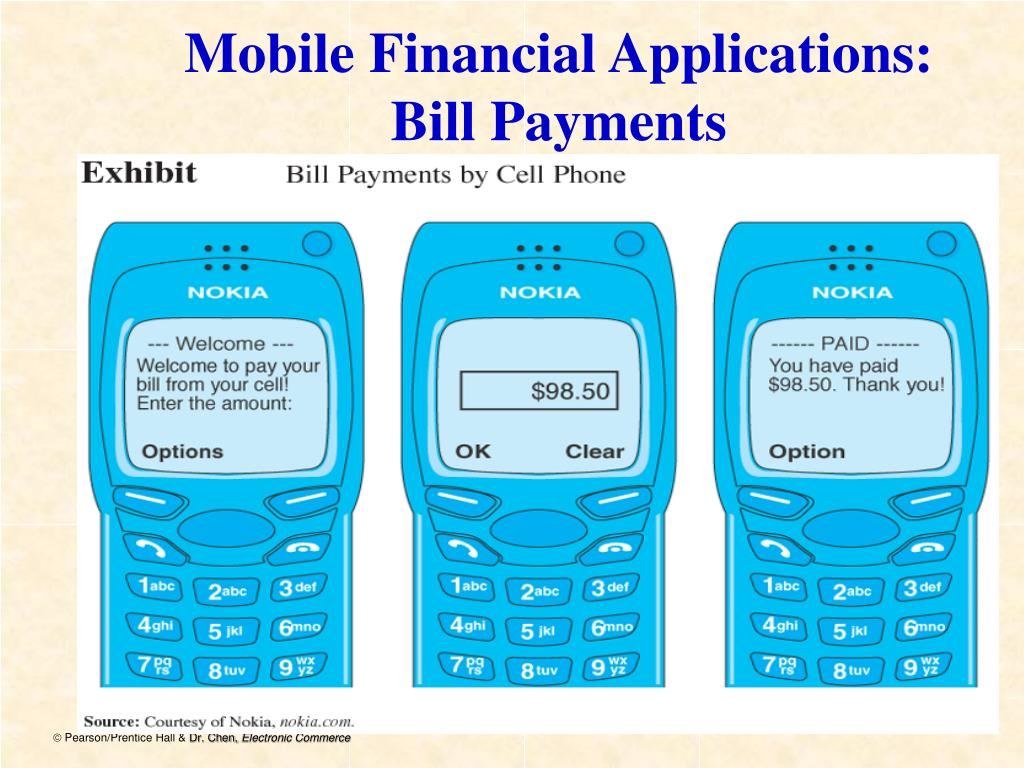 Mobile Financial Applications: