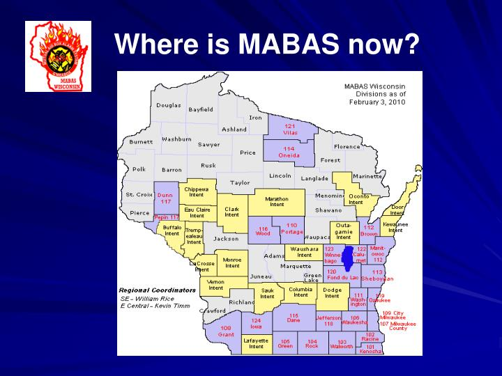 Where is MABAS now?