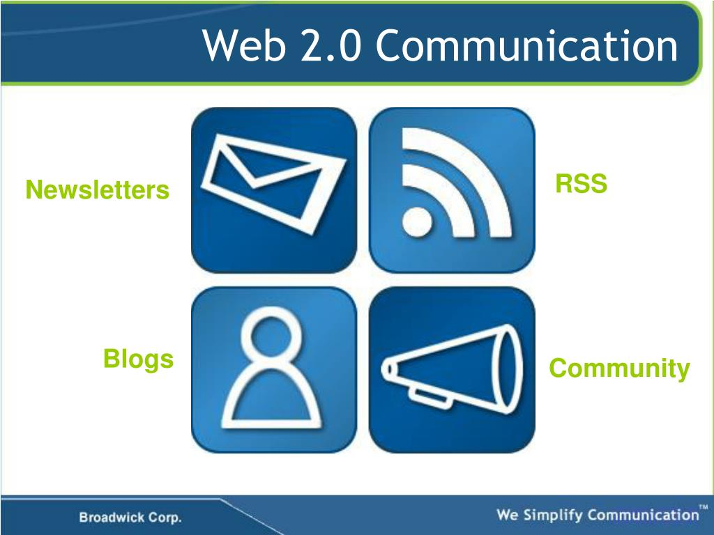 Web 2.0 Communication
