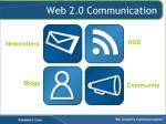 web 2 0 communication