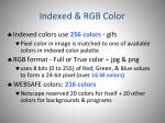 indexed rgb color