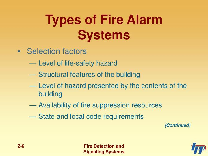 Ppt Fire Detection And Suppression Powerpoint