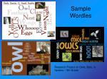 sample wordles12