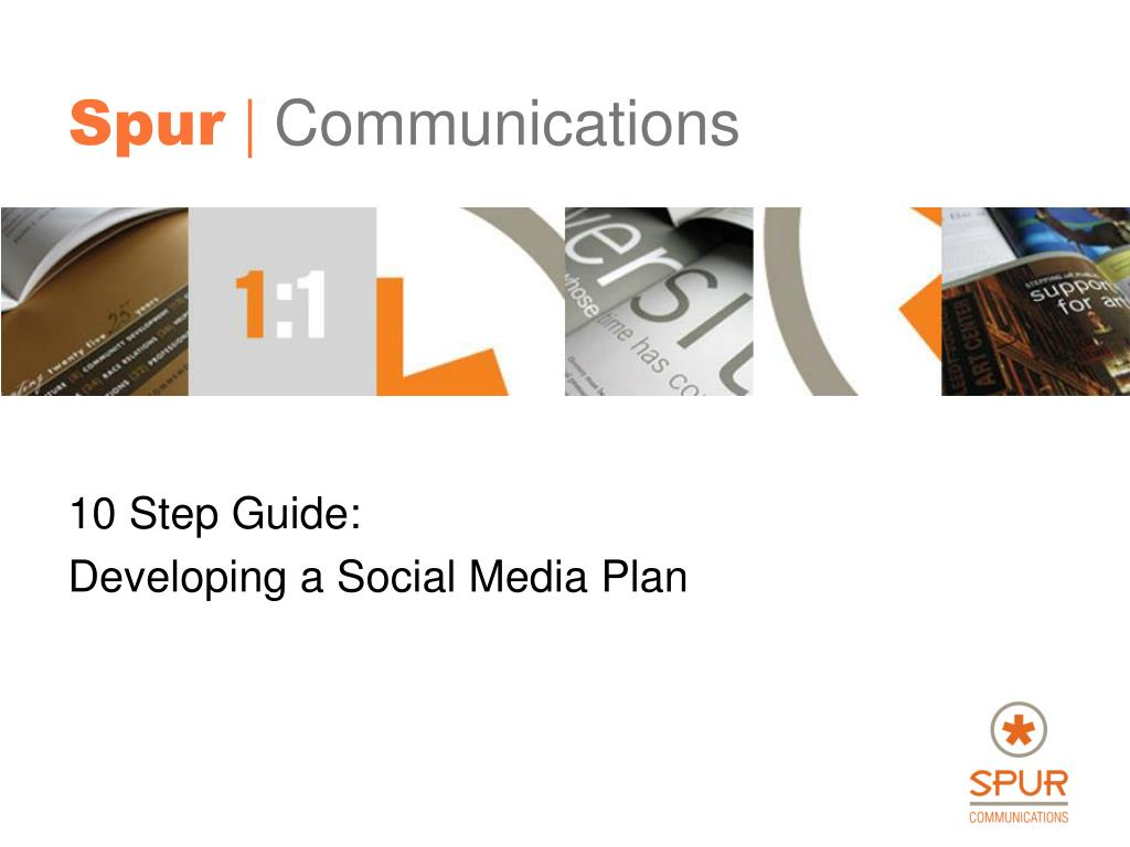 10 step guide developing a social media plan