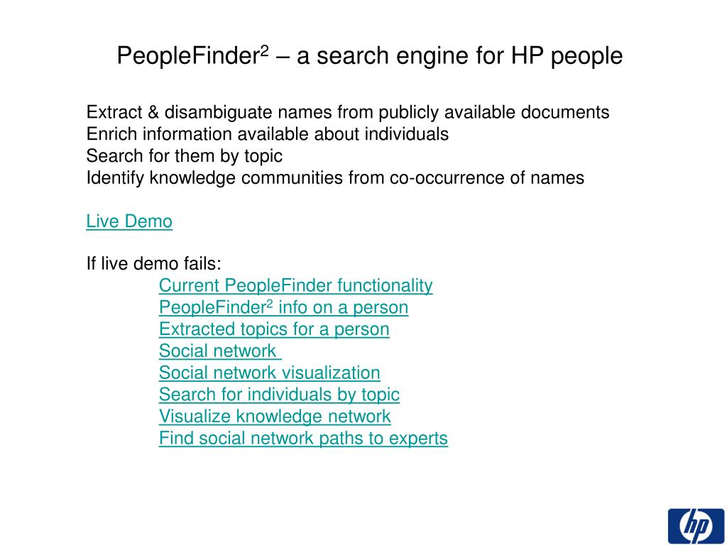 PeopleFinder