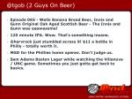 @tgob 2 guys on beer