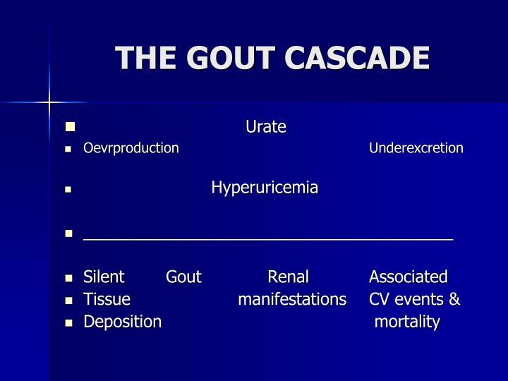 THE GOUT CASCADE
