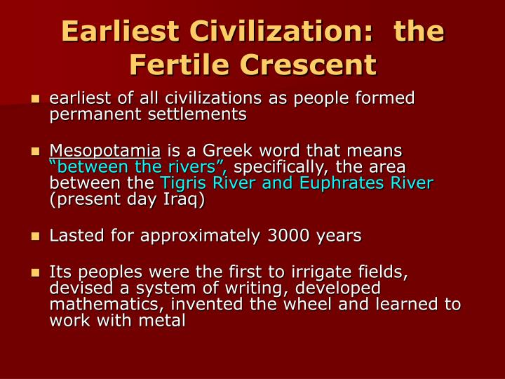 mesopotamia essays Change over time essay: mesopotamia from 2000 bce to current day the earliest civilization in asia arose around 3500 bce in mesopotamia meaning land between the rivers because of its.