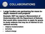 collaborations34