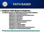 faith based47