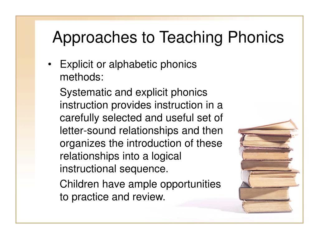 PPT - Phonics: Strategies for Decoding Unknown Words
